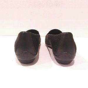 585dd3a1254 Dansko Shoes - Dansko Olivia Black Calf hair Slip-on Loafer